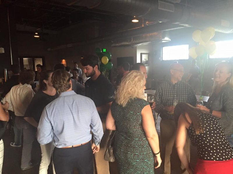 commercial acoustics networking happy hour
