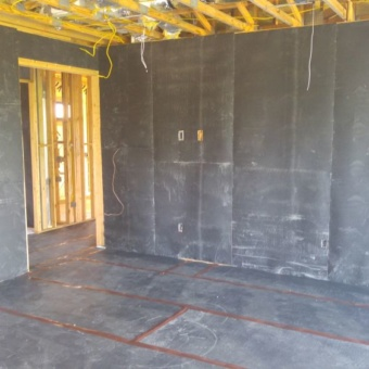 Wall Blokker Mass Loaded Vinyl soundproofing wall