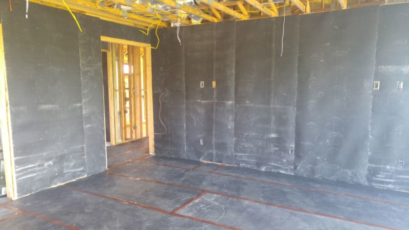mass loaded vinyl for wall soundproofing
