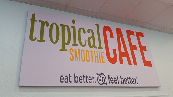 tropical smoothie restaurant acoustics panels