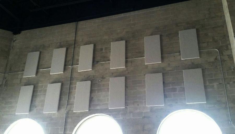 commercial acoustics absorption panels naples flatbread