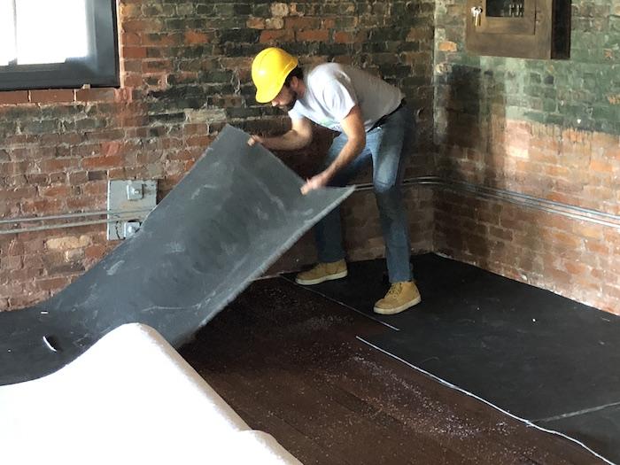 FloorBlokker Installation Armature Works