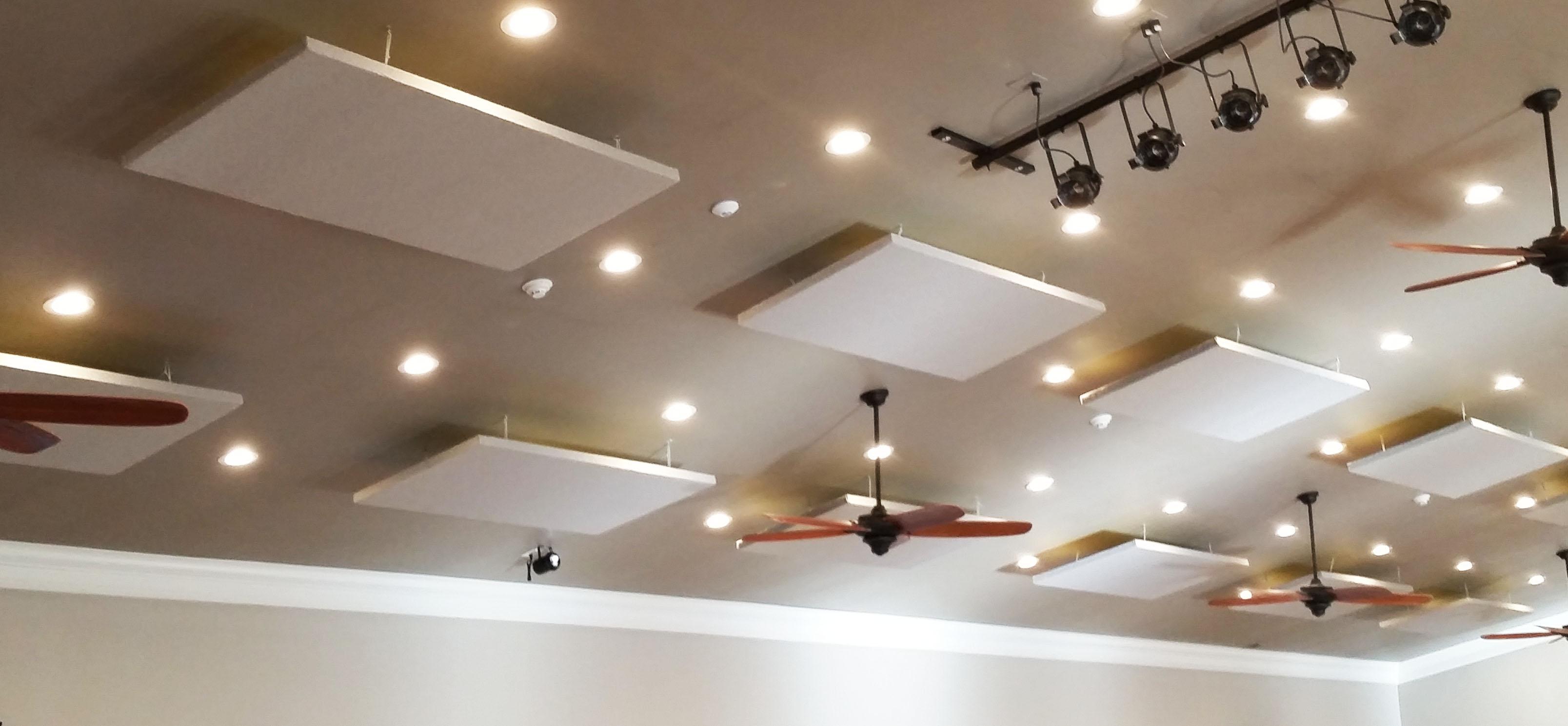 Ekko Eraser Acoustic Ceiling Clouds Commercial Acoustics