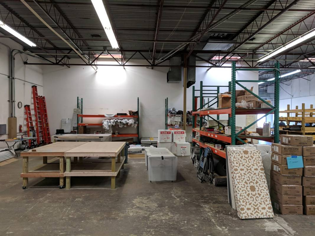 Commercial Soundproofing Warehouse 2