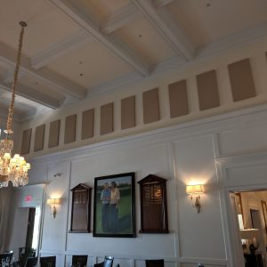 clubhouse acoustic panels